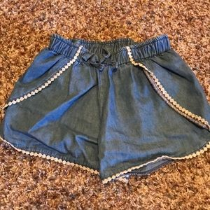 Old navy shorts with crochet